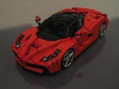 LaFerrari: A LEGO® creation by Ryan Link : MOCpages.com