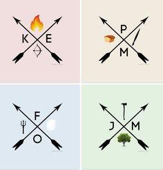 Hunger Games / Catching Fire / Katniss / Peeta / Finnick / Johanna