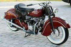 1948 Indian Chief - For Sale - Motorcycle — Expert Auto Indian Motorbike, Vintage Indian Motorcycles, American Motorcycles, Vintage Bikes, Vintage Motorcycles, Harley Davidson Motorcycles, Custom Motorcycles, European Motorcycles, Custom Moped