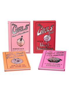 Awesome Girls (Set of 4) from Juniper Books on Gilt