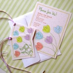 Mother's Day, Spring Party Printable Package http://maddalee.blogspot.com/2013/04/maddalees-mothers-day-spring-party.html