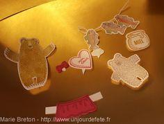 Hug Bear / Câlinours / Stampin'up / Un jour de fête avec Stampin'up ! | Des idées créatives pour embellir vos fêtes