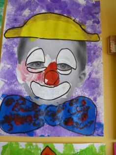 portraits de clowns chez Béatrix: tribune libre - école petite section