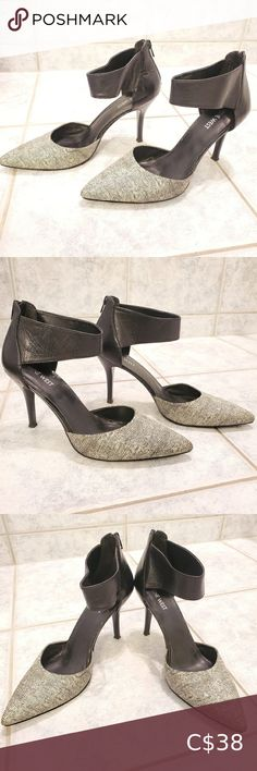 Nine West heel shoes size black/white Perfect condition Size Pet free smoke free home Nine West Shoes Heels Nine West Heels, Plus Fashion, Fashion Tips, Fashion Trends, Shoes Heels, Smoke Free, Black And White, Closet, Outfits