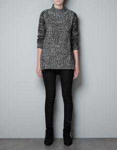 TWIST KNIT SWEATER - Knitwear - Woman - ZARA United States