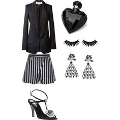"""""""evening style"""" by sophie-lulamey on Polyvore"""