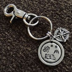 LISTED! #rvgems #classc #motorhome Stamped #keychain for #rvers!  #gorving  Link is on my profile and direct URL is https://www.etsy.com/listing/475634169/motorhome-keychain-with-swivel-clip.  #rvlife #homeiswhereyouparkit #rvliving #wanderlust #fulltimerv #camplife #travel #outdoors #travelusa #wandering #nomad #boondocking #roadtrip #gypsy #drive #car #caravan #cardecor #driving @freeandwandering