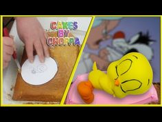 Tweety Bird Cake - Looney Tunes (How To) - YouTube