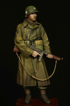 By Jin Kim, a WWII alpine military miniature toy solider.