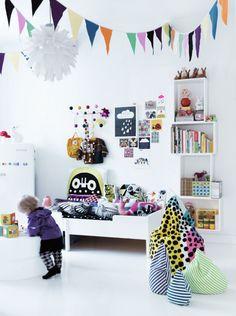 Färgglatt barnrum | Anna-Lena bloggar om inredning