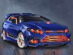 A Transformer Down Under? The Ford 'Falcatron' Emerges