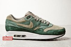 "Nike ""Green Suede"" Air Max 1"