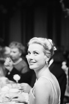Attending the Academy Awards at the Pantages Theatre in Hollywood, California, 30th March 1955.
