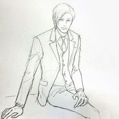 キリキリしないで 帳尻合えば大丈夫だからね  ニコッとサラッと 優しくきびしい上司いかがですか(^。^) #イラスト #illustration  #drawing #もと  #もとp #イケメン fukudamotoko 2016/08/13 09:47:30