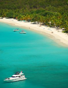 Jost Van Dyke - British Virgin Islands - home of Soggy Dollar Bar and the famous Painkiller drink