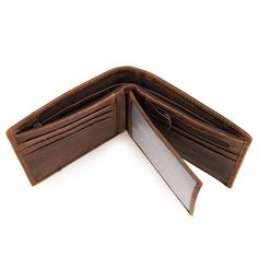 9e6457ea00fe This genuine leather wallet measures 12cm by 9.5cm. For the discerning  gentleman who