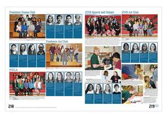 Reference section - nice to add individual students with quotes into group photos section Middle School Yearbook, Yearbook Staff, Yearbook Pages, Yearbook Spreads, Yearbook Covers, Yearbook Layouts, Yearbook Design, Yearbook Photos, I School