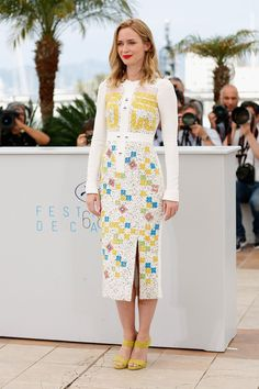 Emily Blunt | 31 Flawless Celebs Dressed To Kill At Cannes