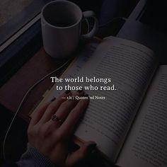 The world belongs to those who read. - Rick Holland via (http://ift.tt/2n1bYtJ)