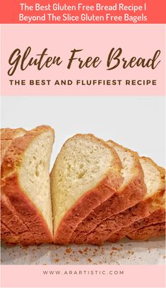 The Best Gluten Free Bread Recipe | Beyond The Slice Gluten Free Bagels #The #Best #Gluten #Free #Bread #Recipe #Beyond #The #Slice #Gluten #Free #Bagels Good Gluten Free Bread Recipe, Gluten Free Cooking, Dairy Free Recipes, Gluten Free Wheat, Glutenfree Bread Recipe, Wheat Free Bread Recipes, Gluten Free Meals, Rice Flour Recipes, Best Gluten Free Desserts