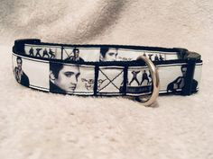Elvis Inspired Adjustable Dog Collar and/or Lead for Medium to Large Dogs Handmade Dog Collars, Large Dogs, Rescue Dogs, I Love Dogs, Cool Things To Make, Fur Babies, Cool Designs, Boutique, Inspired