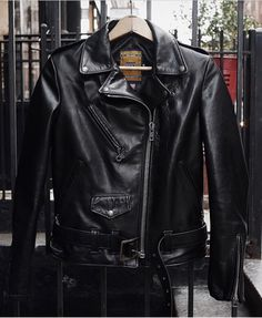 Schott NYC. Style536W black leather jacket. Dream.