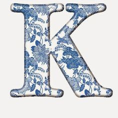 View album on Yandex. Monogram Alphabet, Alphabet And Numbers, Delft, Love Blue, Blue And White, Letter K Design, Name In Different Fonts, Sewing Material, Cute Cartoon Wallpapers