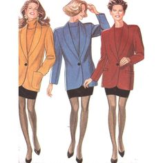 New Look Sewing Pattern 6978  UNCUT Misses' Jacket, Skirt, Vest, Waistcoat   SIZE: 8-18