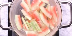 Heres how to make watermelon rind pickles, summer's most unexpected snack!