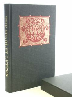 the scarlet letter published by the folio society 1992 lettering the scarlet