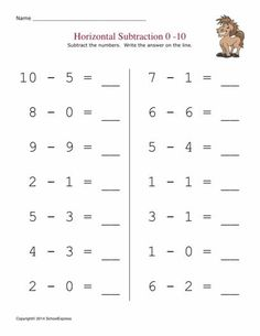 FREE worksheets, create your own worksheets, games. Math Subtraction Worksheets, Subtraction Kindergarten, French Worksheets, Addition Worksheets, Kindergarten Math Worksheets, Math Activities, Reading Comprehension Worksheets, Addition And Subtraction, Learning