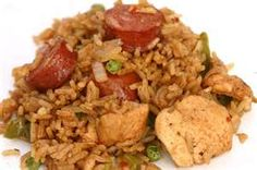 Chicken and Sausage Jambalaya: Yumbalaya!