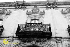 Casa Ecola, detalle balcón, Querétaro, México
