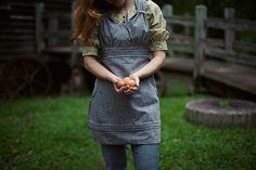 Patron de couture pour le tablier par SewLiberatedPatterns sur Etsy