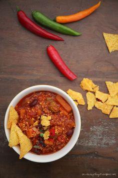 chili con kernies - seelenwärmer. // nikesherztanzt #seelenwaermer #vegan