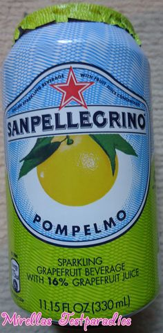 And the sort Pompelmo – Grapefruit from Sanpellegrino.