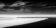 Three Jetties http://mabrycampbell.com #galveston #seascape #image #mabrycampbell #photo #blackandwhite #fineart #beach #texas #photography #gulfofmexico