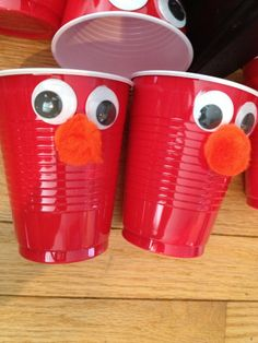 Elmo Themed First Birthday Party: DIY-Style – Ups and Downes Baby Boy First Birthday, 1st Boy Birthday, Boy Birthday Parties, Birthday Ideas, Birthday Decorations, Elmo Party, Mickey Party, Dinosaur Party, Dinosaur Birthday