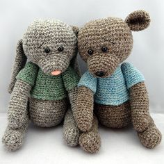 Wooly friends amigurumi pattern by NenneDesign