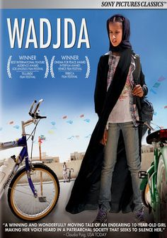 this award winning film was the first entry by Saudi Arabia. It tells the story of a young girl who wants to buy and win a bike race.  In a highly conservative and male dominated society, this is u nheard of and can affect a woman's virginity. You can learn enormous  amounts of info about how women  are expected to live - from this delightful movie.
