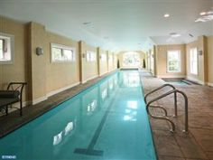 Indoor pool in Blue Bell, PA