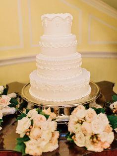 @palomablancawed  Real Bride Wedding Cake