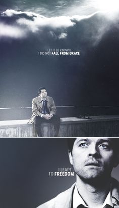 Castiel: I did not fall from grace. #spn