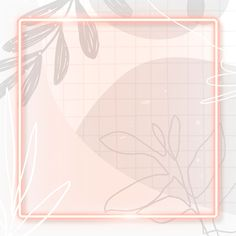 Frame on Memphis patterned background vector | premium image by rawpixel.com / katie