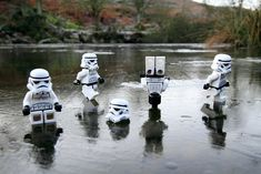 TieFighters — On Thin Ice Image by Andy Wells