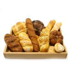 Selection of Bread - Dollhouse Miniature Food Handmade
