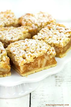 Fall Dessert Recipes, Fall Desserts, Cinnamon Biscuits, Shortbread Bars, French Toast Bake, Polish Recipes, Apple Crisp, Baked Goods, Sweet Recipes