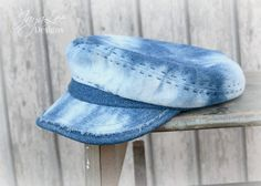 Faded Denim Fisherman's Cap XL