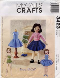 Free Copy of Pattern - McCalls 3423