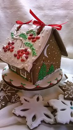 "Gingerbread House ""Rowanberry"" roof design."